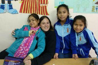 """Paula Arrinda: """"Basta con ver la sonrisa de un niño para darnos cuenta que podemos ser felices"""""""